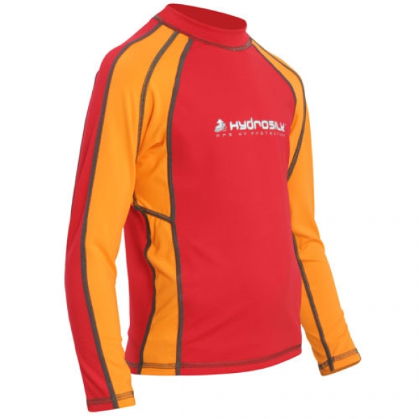 Kid's Hydrosilk Rash Guard Shirt langarm