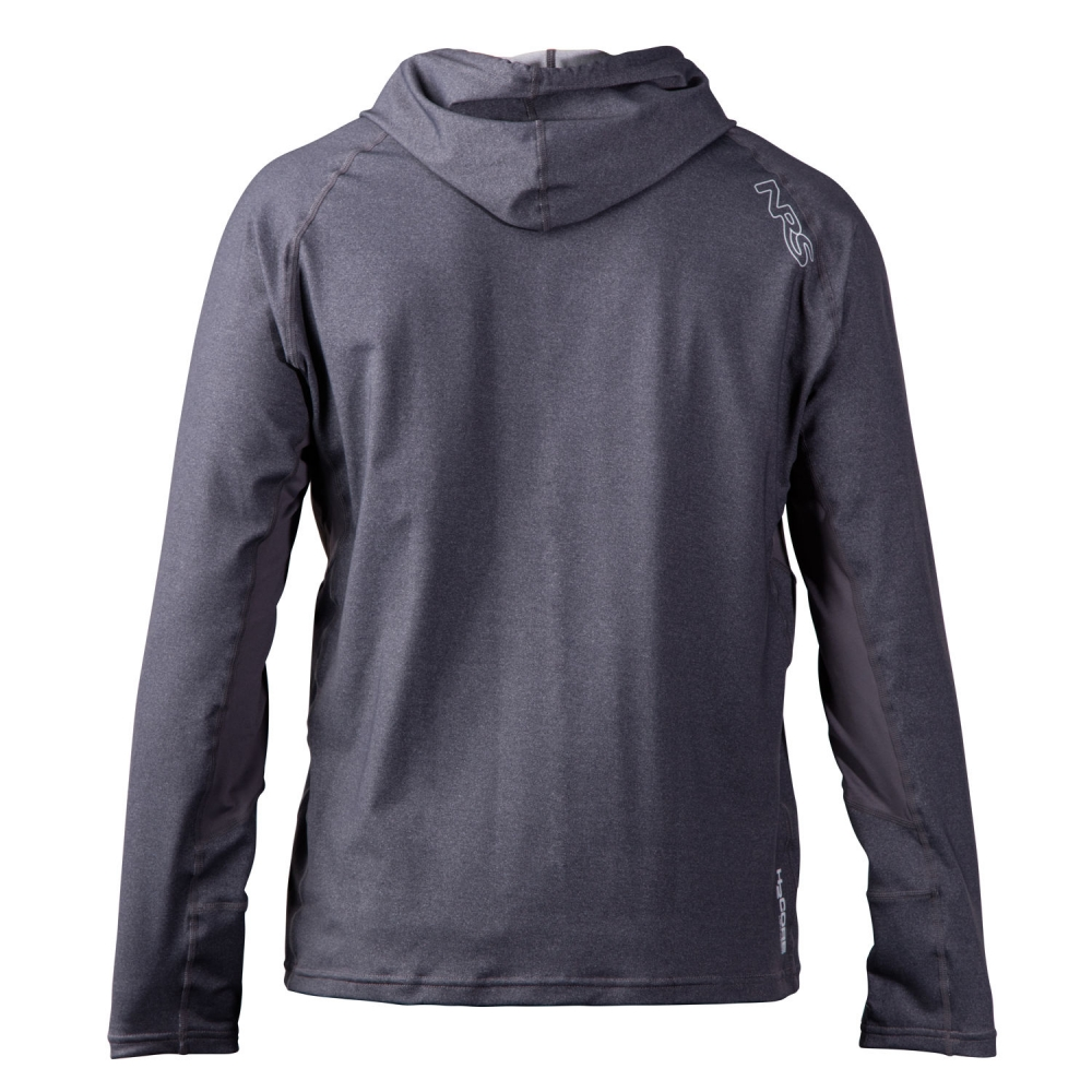Farbe Gunmetal, 'Men's H2Core Lightweight Hoodie'