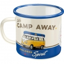 Email Tasse 'Let's camp away'